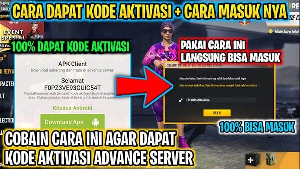 Kode Aktivasi Advance Server