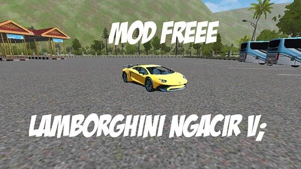 Mod BUSSID Lamborghini