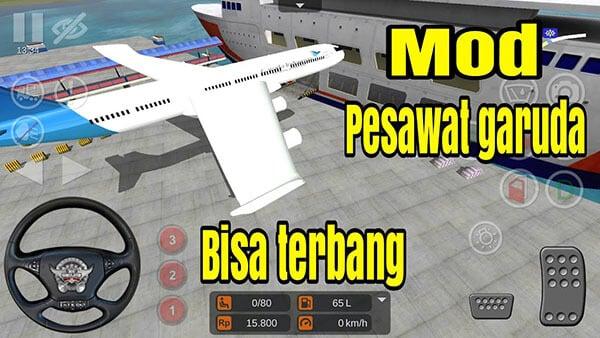 Mod BUSSID Pesawat Terbang