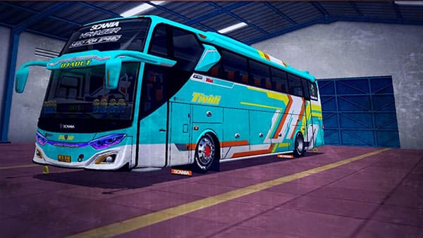 Mod BUSSID Bus Scania