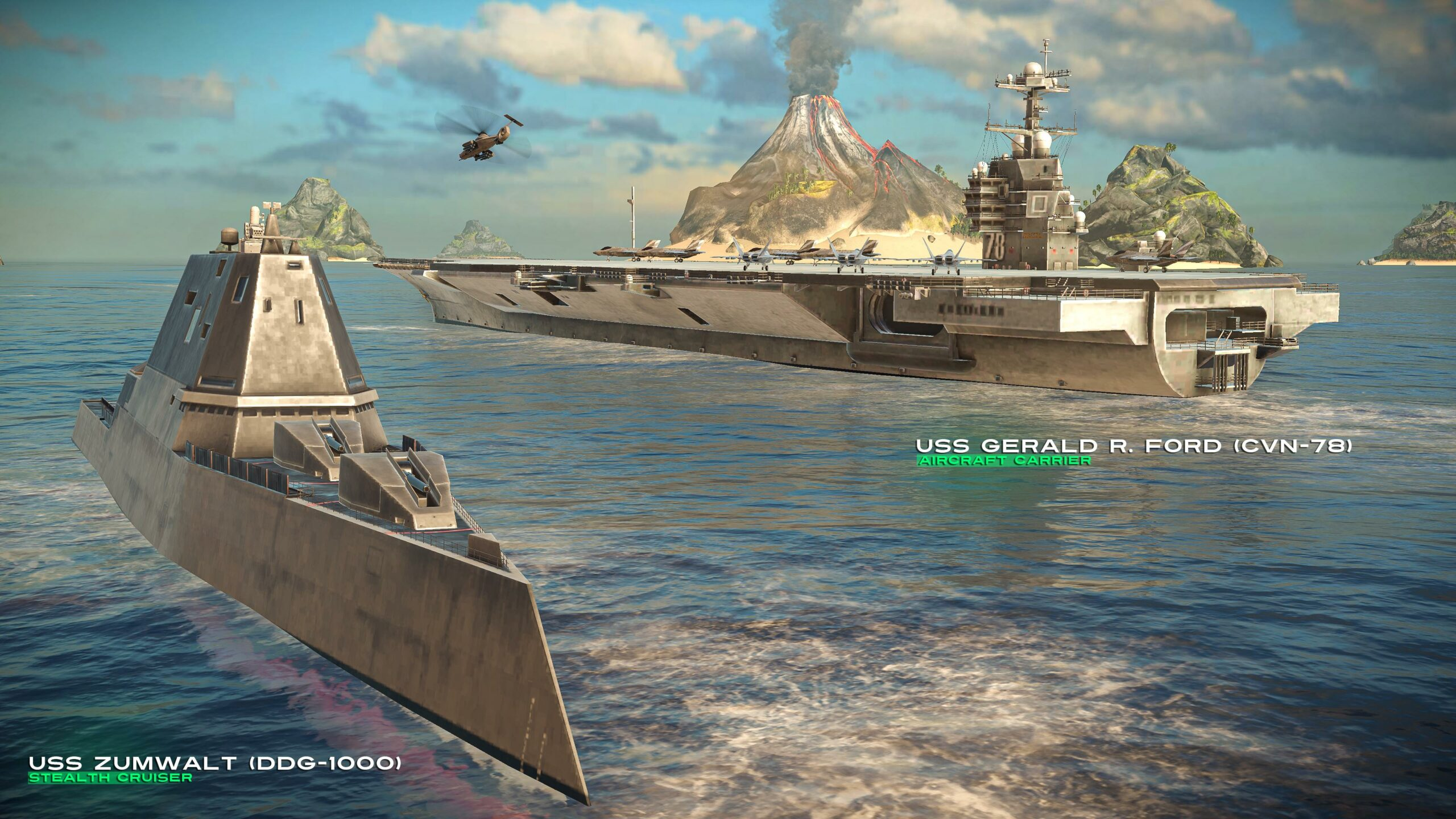 Adanya-Lusinan-Kapal-Perang