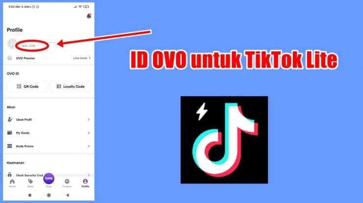 Cara-Melihat-ID-OVO-Di-TikTok-Lite