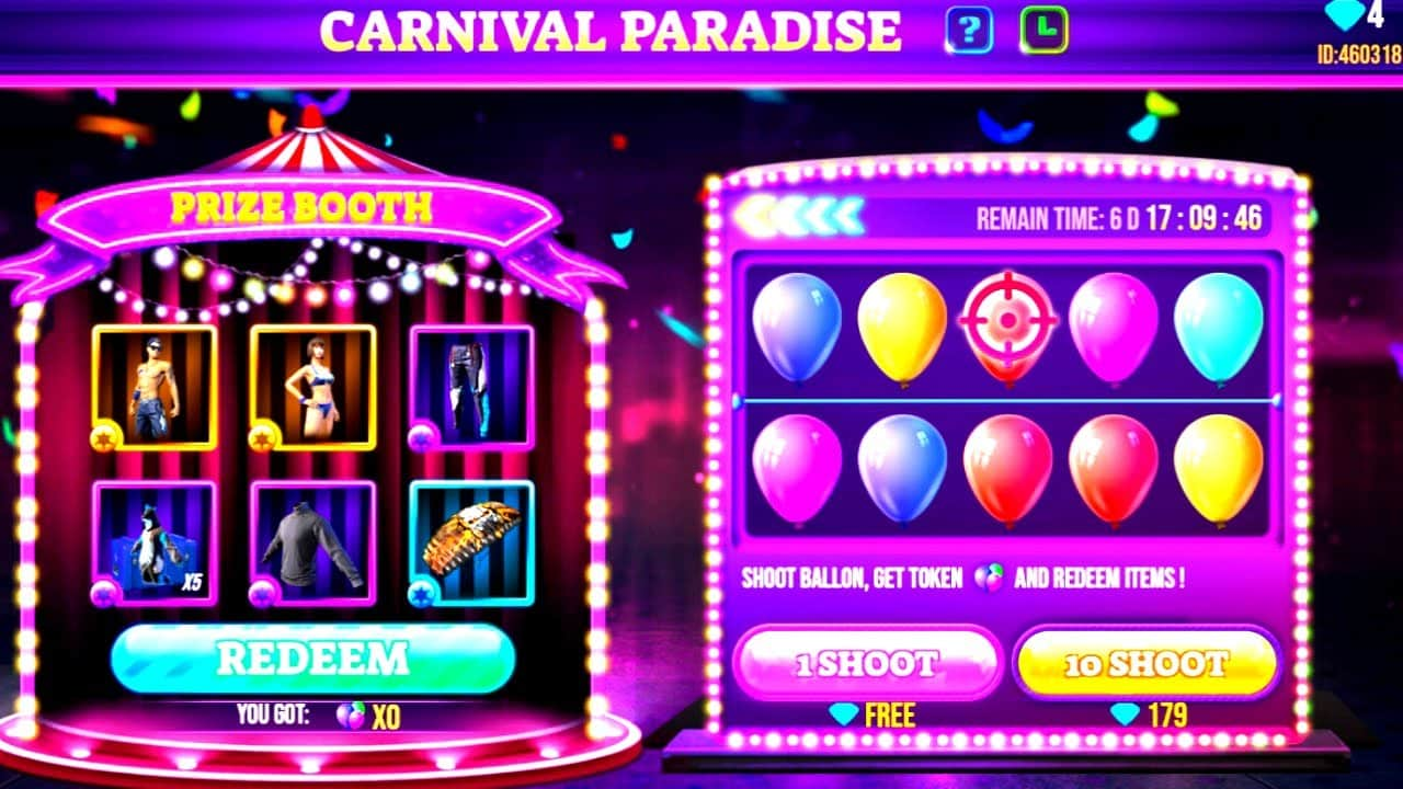 Cara-Mendapatkan-Bundle-Chrono-Top-Scorer-di-Carnival-Paradise-Free-Fire