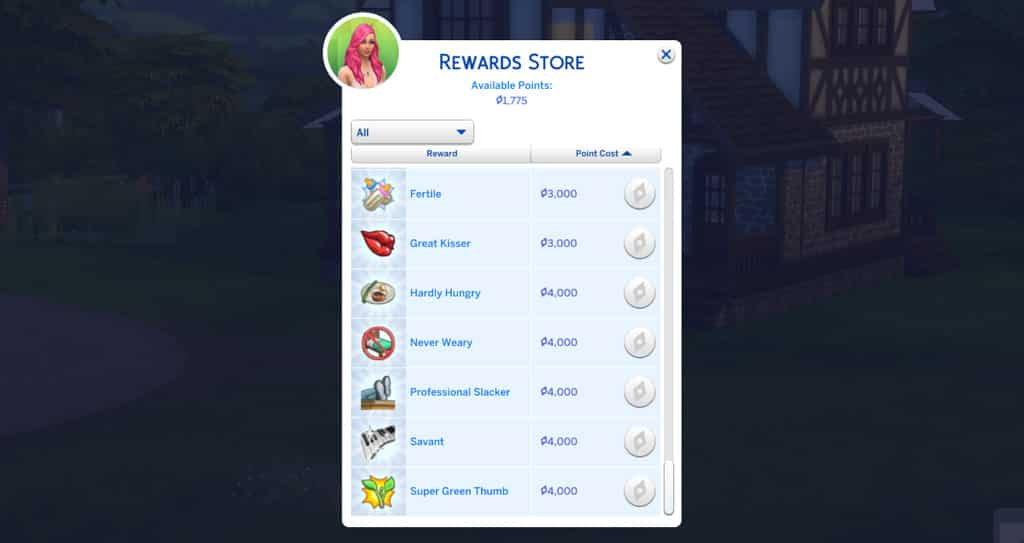 Cheat-Sims-Trait