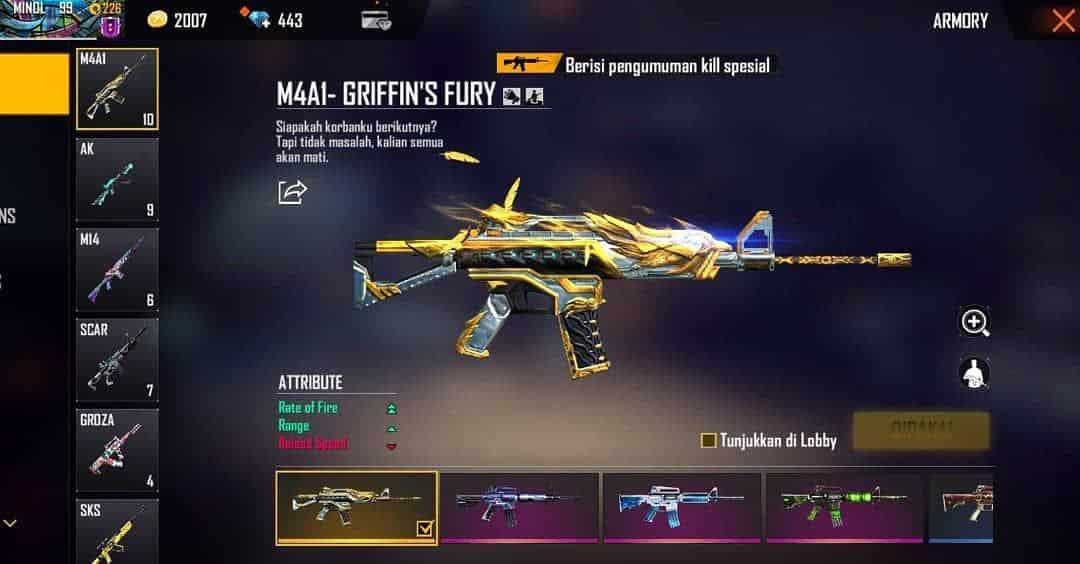 Griffins-Fury-M4A1