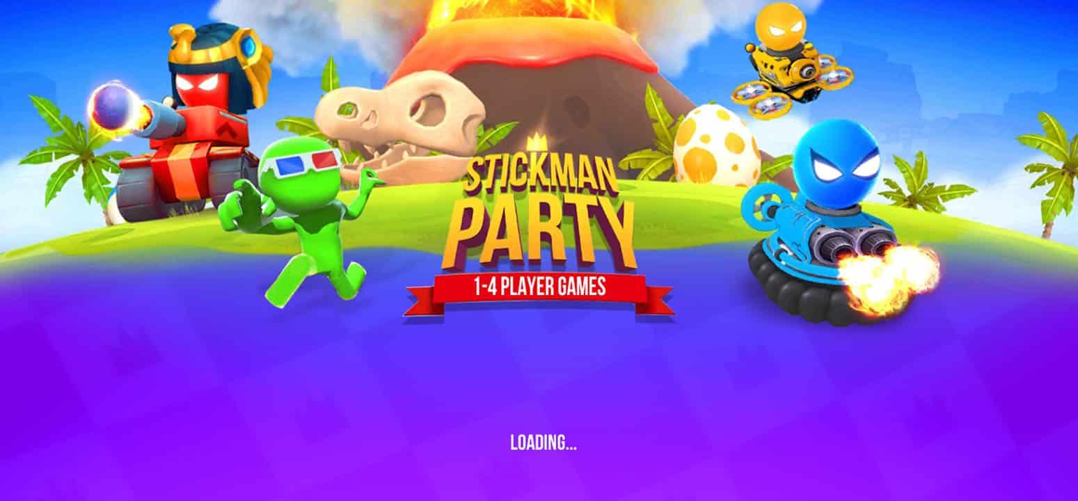 Stickman-Party