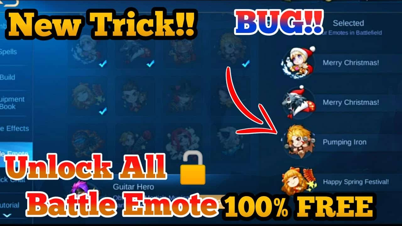 Unlock-Emote